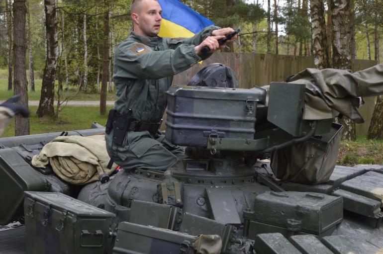 Танкісти 14 ОМБР натанковому біатлоні НАТО вправи вобороні
