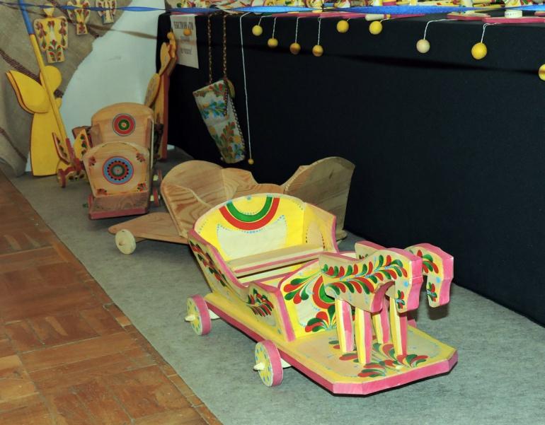 Виставка дерев'яних іграшок-забавок у Луцьку (ФОТО), фото-5