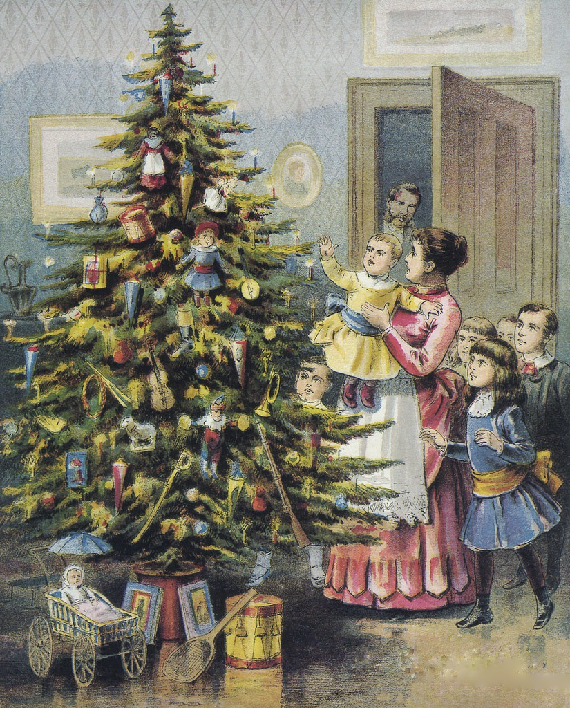 Когда в россии начали наряжать елку на новый год